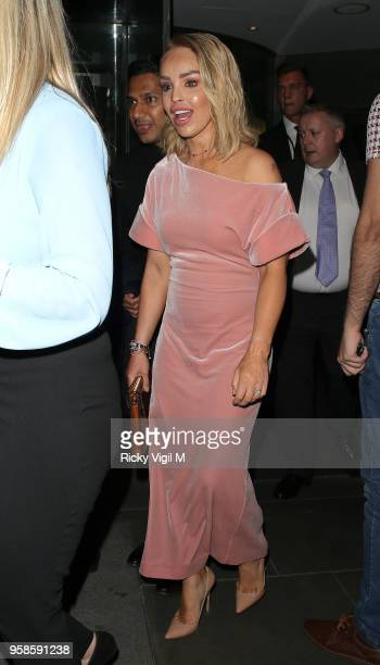 Katie Piper seen attending NHS Heroes Awards at London Hilton Park Lane on May 14, 2018 in London, England.