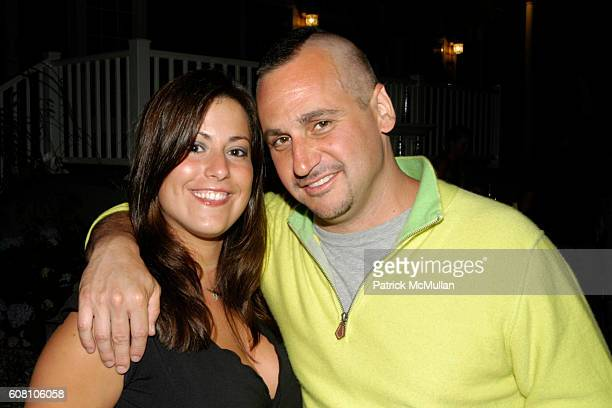 Katie Plonskier and Todd Moscowitz attend Patrick McMullan Dave Zinczenko invite you to a Summer BBQ for Eric Kimberly Villency at 12 Southampton...