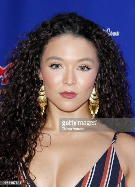 Katie Powers attends the Unauthorized Musical Parody of 'A League Of Their Own' media preview night at Rockwell Table and Stage on July 26 2019 in...