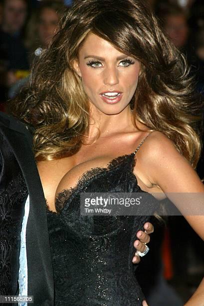 Katie Price aka Jordan during National Television Awards 2005 Arrivals at Royal Albert Hall in London Great Britain