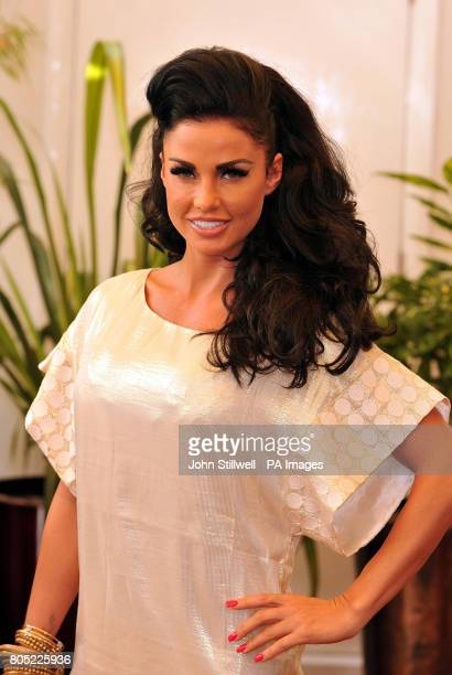 Katie Price aka Jordan poses during a photocall to promote 'What Katie Did Next' her new TV show coming to ITV2 soon