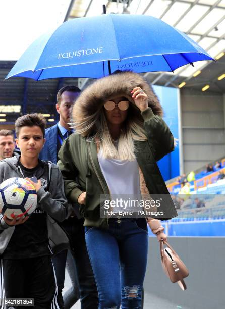 Katie Price arrives for the Bradley Lowery charity match at Goodison Park Liverpool PRESS ASSOCIATION Photo Picture date Sunday September 3 2017 See...