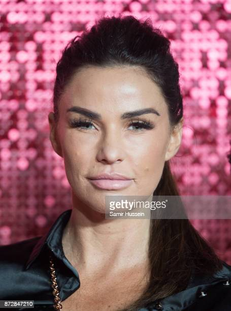 Katie Price arriving at the ITV Gala held at the London Palladium on November 9 2017 in London England