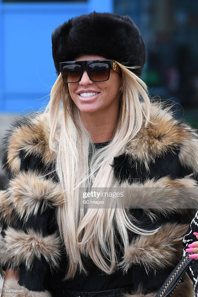 GBR: Katie Price At Crawley Magistrates Court