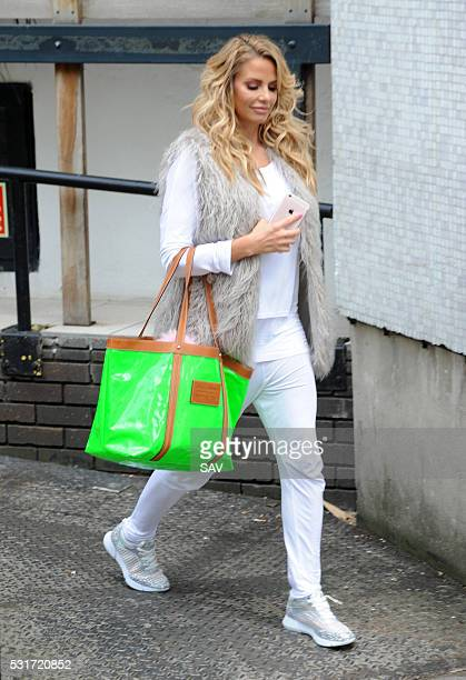 Katie Price at The ITV Studios on May 16 2016 in London England