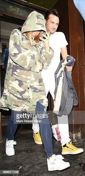 Katie Price attending the Simply Glamorous book launch party on September 16 2015 in London England