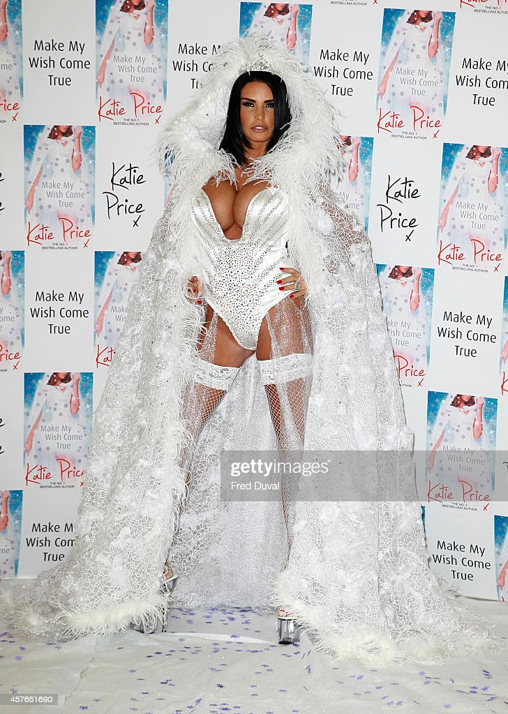Katie Price Book Launch Photocall