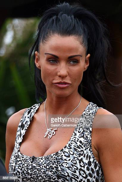 Katie price attends the Duke Of Essex Polo on July 4 2009 in Epping England