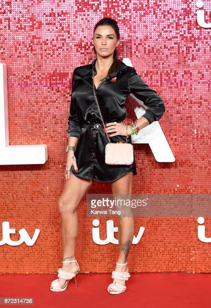Katie Price attends the ITV Gala at the London Palladium on November 9, 2017 in London, England.