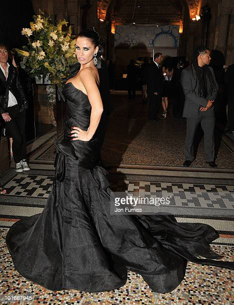 Katie Price attends the Philips British Academy Television Awards after party at the Natural History Museum on June 6, 2010 in London, England.