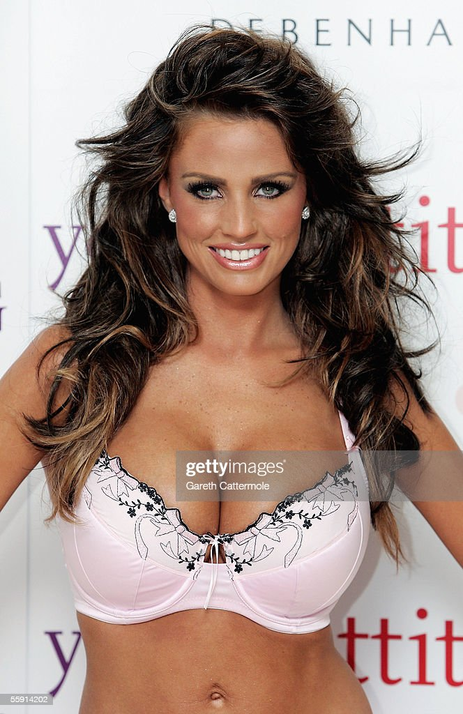 Katie Price Launches Young Attitude Lingerie