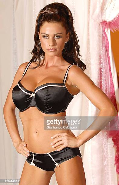 Katie Price during Katie Price Launches Her New Lingerie Range Photocall at The Worx in London Great Britain
