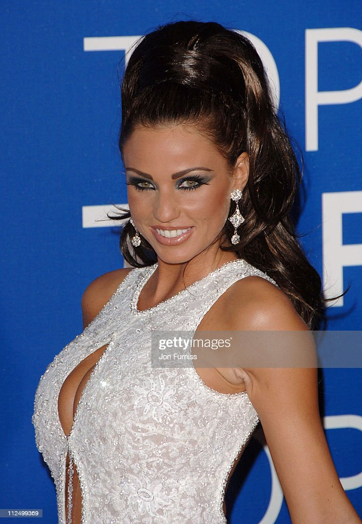 Katie Price during World Music Awards 2006 - Inside Arrivals at Earls Court in London, United Kingdom.