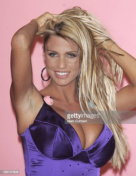 Katie Price Is Unveiled As The New Face Of Foxy Bingo At A Photocall In London