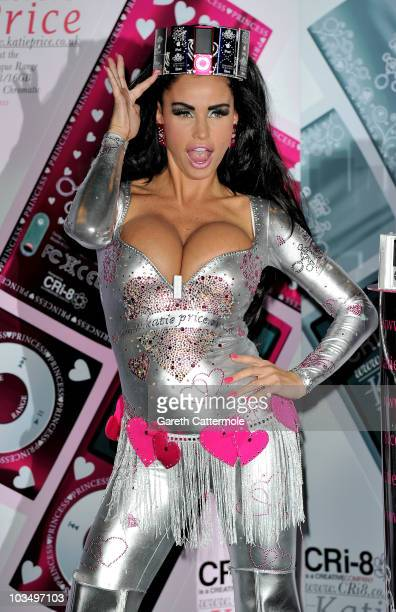 Katie Price launches Boutique iPod Range at The Worx on August 20 2010 in London England