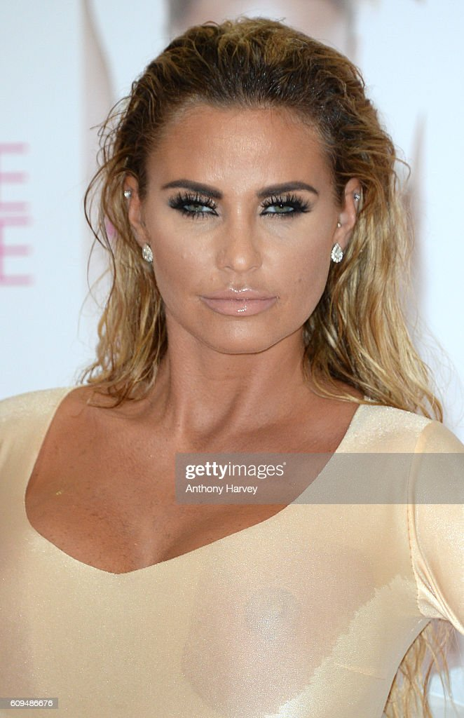 Katie Price Book Launch - London