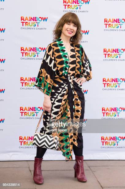 Katie Puckrik attends the 'Trust In Fashion' London event at The Savoy Hotel on March 19 2018 in London England