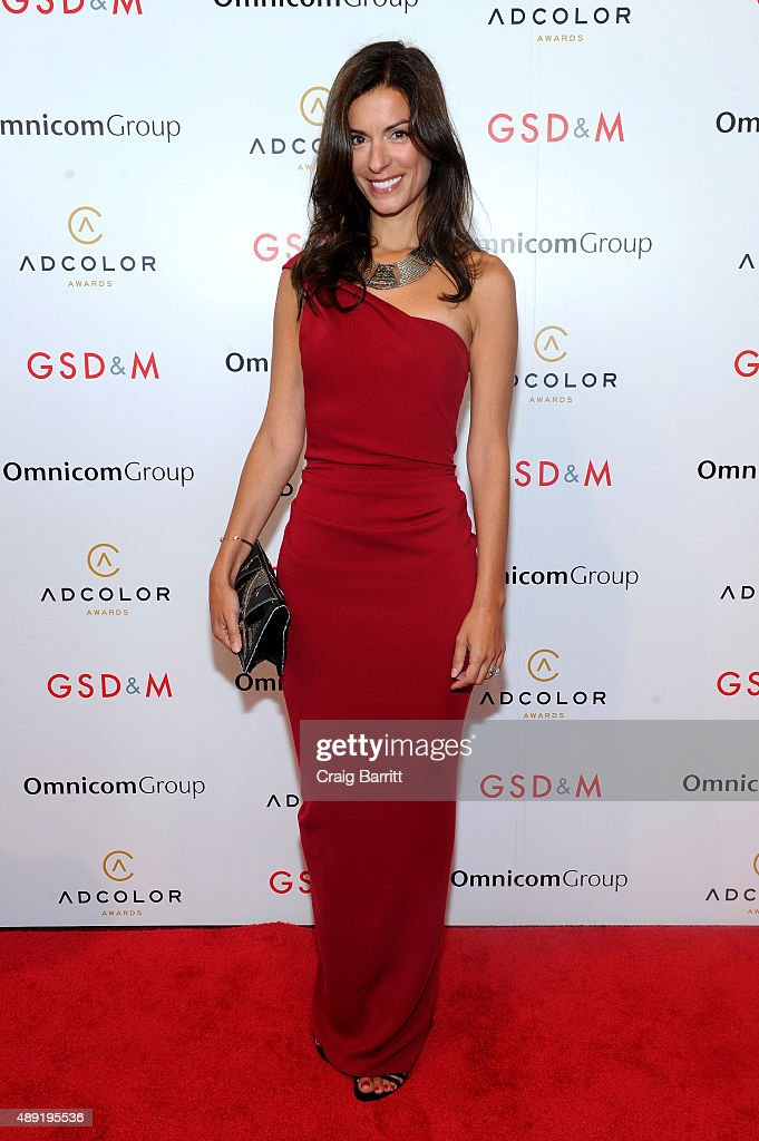 Katie Puris, Head of Global Operations and Business Development at Facebook, attends the 9th Annual ADCOLOR Awards at Pier 60 on September 19, 2015 in New York City.