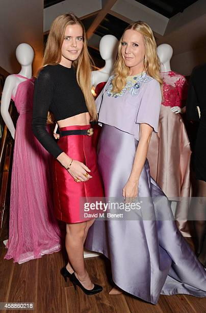 Katie Readman and Alice Naylor Leyland attend as evening wear label TOUJOURI presents their SS15 collection with an intimate dinner hosted by Amber...