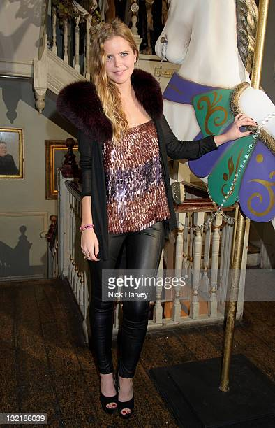 Katie Redman attends Alice & Olivia dinner hosted by Stacey Bendet at Paradise by Way of Kensal Green on November 9, 2011 in London, England.