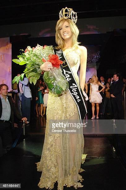 Katie Rees during Former Miss Nevada Katie Rees' Crowned Miss JET Las Vegas At JET Nightclub at The Mirage Hotel and Casino Resort at JET Nightclub...
