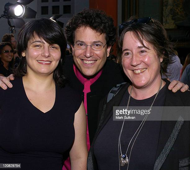Katie Roumel producer Michael Mayer director and Christine Vachon producer
