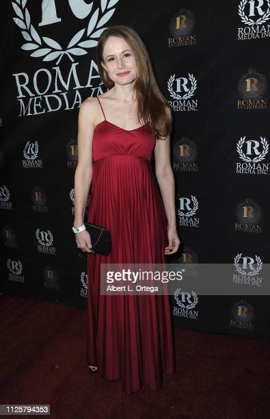 Katie Ryan arrives for Roman Media's 5th Annual Hollywood Event A Celebration of Women and Diversity in Film held at St Felix on February 18 2019 in...