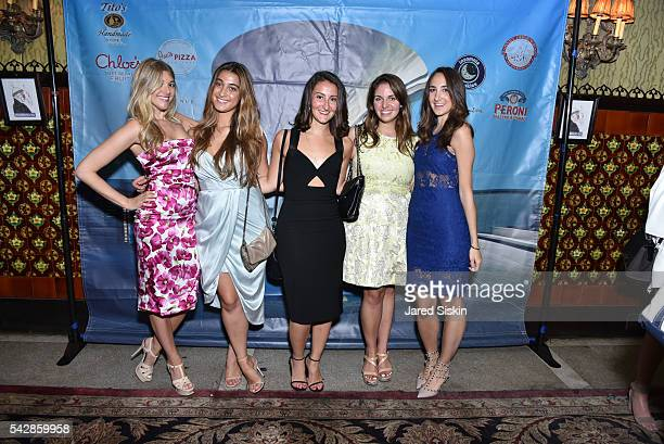 Katie Sands Rebecca Gluck Alyssa Vitali Emily O'Connor and Carolyn Floersheimer attend AFIM Presents Celebrate Summer An Art Acquisitions Fundraiser...