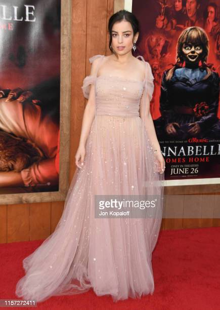 Katie Sarife attends the Premiere Of Warner Bros' Annabelle Comes Home at Regency Village Theatre on June 20 2019 in Westwood California