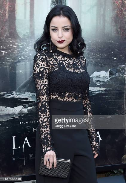 Katie Sarife attends the Premiere Of Warner Bros' The Curse Of La Llorona at the Egyptian Theatre on April 15 2019 in Hollywood California