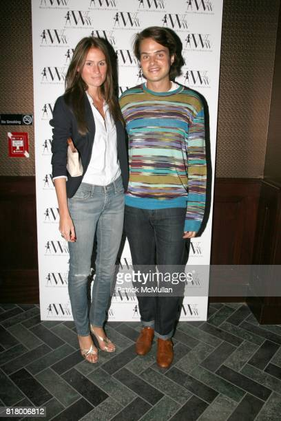 Katie Shelander and Richard Thayer attend QUEST MAGAZINE W2WWCOM hosts a soft launch of LAVO at 38 E 58th St on September 9 2010 in New York City