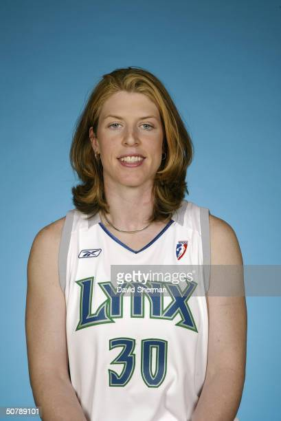 Katie Smith of the Minnesota Lynx poses for a portrait during the 2004 WNBA Media Day at Target Center on April 27 2004 in Minneapolis Minnesota NOTE...