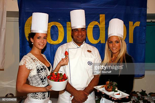 Katie Steiner Blanca Starke Teilnehmerinnen der Ausflugsreise zum Missen Camp für die Miss Germany Wahl 2007 Hotel Sheraton Miramar El Gouna Ägypten...
