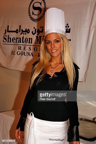 Katie Steiner Teilnehmerinnen der Ausflugsreise zum Missen Camp für die Miss Germany Wahl 2007 Hotel Sheraton Miramar El Gouna Ägypten Afrika...