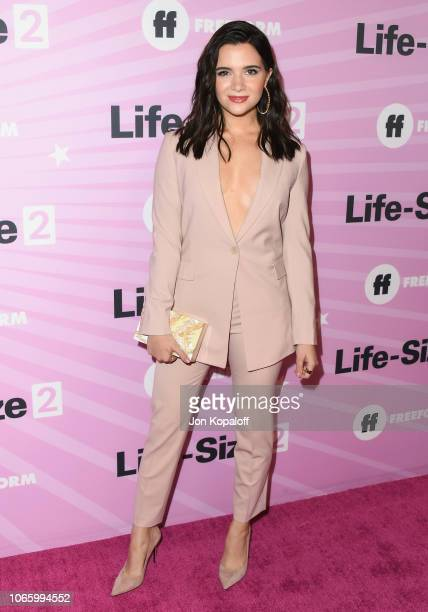 Katie Stevens attends Life Size 2 World Premiere at Hollywood Roosevelt Hotel on November 27 2018 in Hollywood California