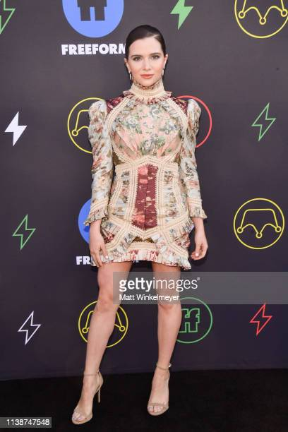 Katie Stevens attends the 2nd Annual Freeform Summit at Goya Studios on March 27 2019 in Los Angeles California