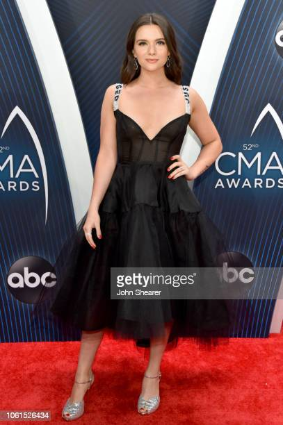 Katie Stevens attends the 52nd annual CMA Awards at the Bridgestone Arena on November 14 2018 in Nashville Tennessee