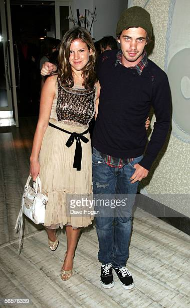 """Katie Sumner and Jake Sumner attend the after show party following the UK Premiere of """"Memoirs Of A Geisha,"""" at Nobu on January 11, 2006 in London,..."""