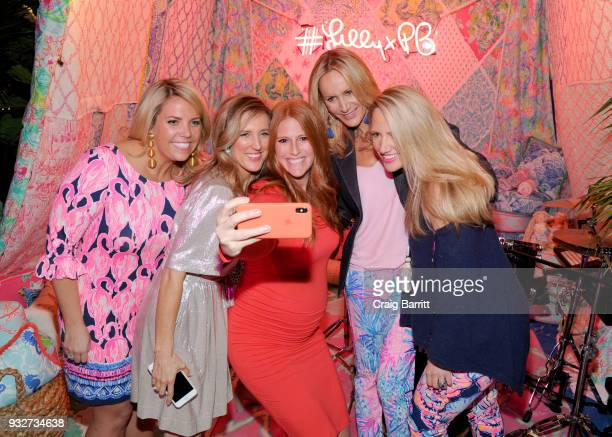 Katie Townsend and Lilly Pulitzer executives attend the Launch Celebration of the Pottery Barn Pottery Barn Kids PBteen and Lilly Pulitzer Exclusive...