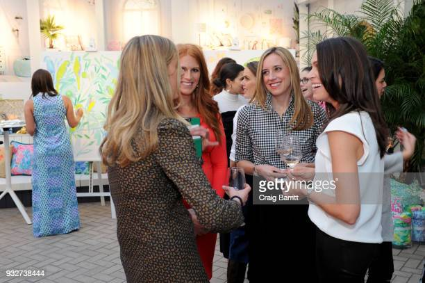 Katie Townsend Kimberly and Kendra Stewart attend the Launch Celebration of the Pottery Barn Pottery Barn Kids PBteen and Lilly Pulitzer Exclusive...