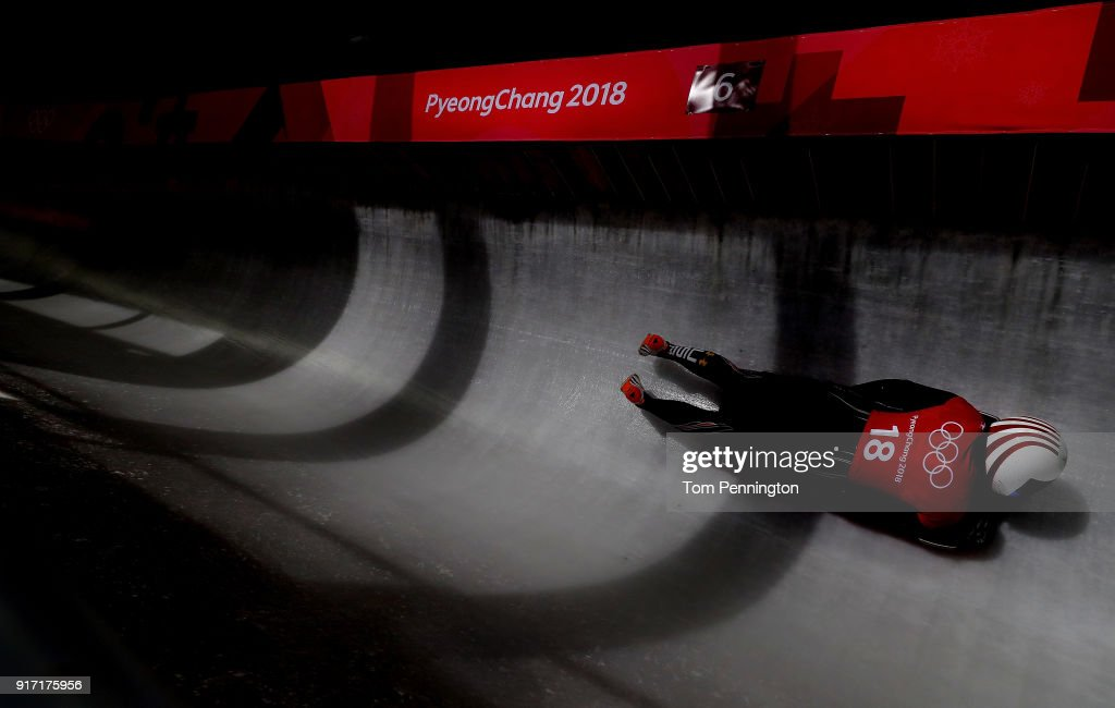 Skeleton Training - Winter Olympics Day 3