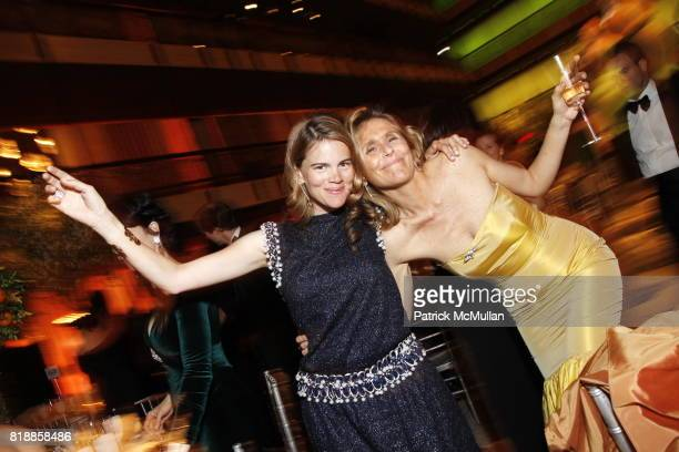 Katie von Strasser and Diana LeConte attend NEW YORK CITY BALLET Spring Gala 2010 Arrivals at Lincoln Center on April 29 2010 in New York