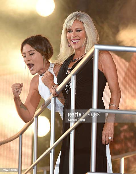 Katie Waissel and Samantha Fox become the 6th and 7th housemates evicted from Celebrity Big Brother 2016 on August 23 2016 in Borehamwood United...