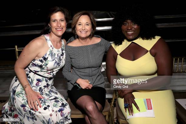 Katie Watkin Maggie Lear and Danielle Brooks attend the Bottomless Closet's 19th Annual Spring Luncheon on May 16 2018 in New York City