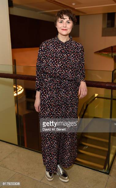Katie West attends the press night after party for 'The York Realist' at The Hospital Club on February 13 2018 in London England