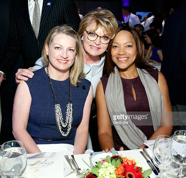 Katie Wright Founder of Autism Speaks Suzanne Wright and Grace Hightower attend Autism Speaks Celebrity Chef Gala 2014 at Cipriani Wall Street on...