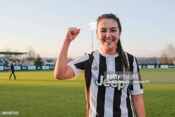 Katie Zelem at Juventus Center Vinovo on January 13 2018 in Vinovo Italy