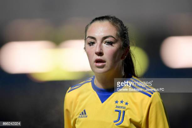 Katie Zelem during the Coppa Italia match between Juventus Women and Juventus Femminile at Juventus Center Vinovo on December 13 2017 in Vinovo Italy