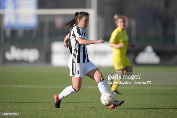 Katie Zelem during the Juventus Women v Valpolicella Chievo Verona Women match at Juventus Center Vinovo on January 13 2018 in Vinovo Italy