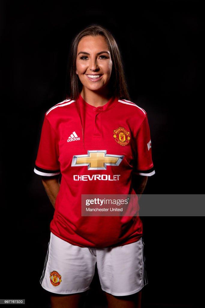 Manchester United Women Portrait Session : News Photo